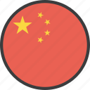 asian, china, chinese, country, flag