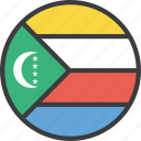 african, comoros, country, flag