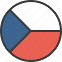 country, czech, european, flag, republic icon