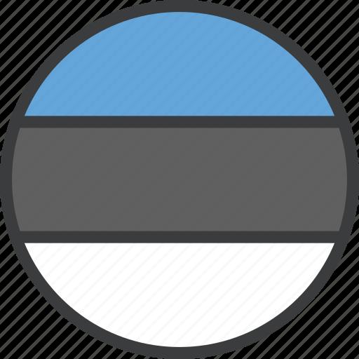 country, estonia, estonian, european, flag icon