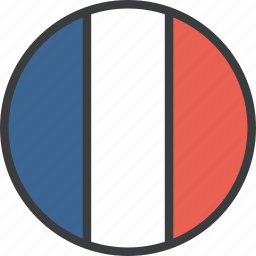 country, european, flag, france, french icon