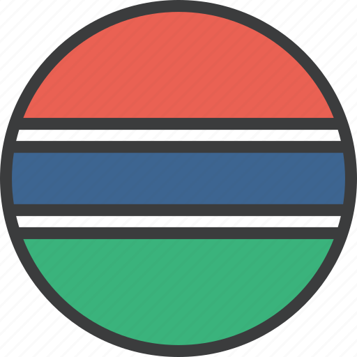 african, country, flag, gambia, gambian icon