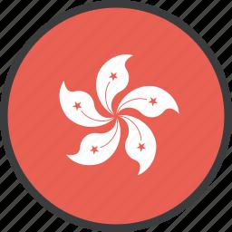 asian, country, flag, hong, kong icon