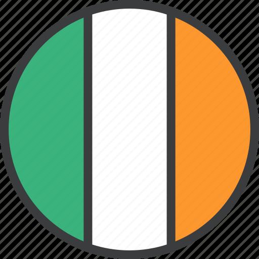country, european, flag, ireland, irish icon