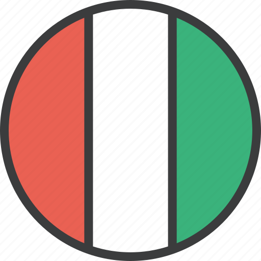 country, european, flag, italian, italy icon
