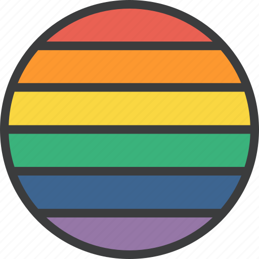 flag, lgbt, rainbow, rights icon