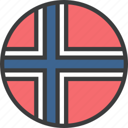 country, european, flag, norwageian, norway icon