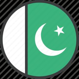 asian, country, flag, pakistan, pakistani icon