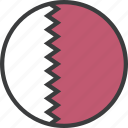 asian, country, flag, qatar, qatari icon