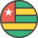 african, country, flag, togo