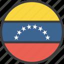 country, flag, venezuela, venezuelan icon