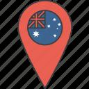 aussie, australia, country, flag