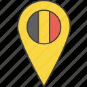 belgian, belgium, country, european, flag