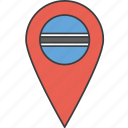 african, botswana, country, flag icon
