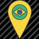 brasil, brazil, country, flag