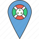 african, burundi, country, flag