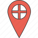 country, england, english, european, flag icon