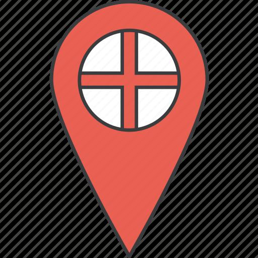 country, england, english, european, flag icon