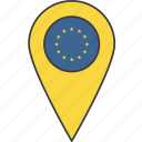 country, europe, european, flag, union icon