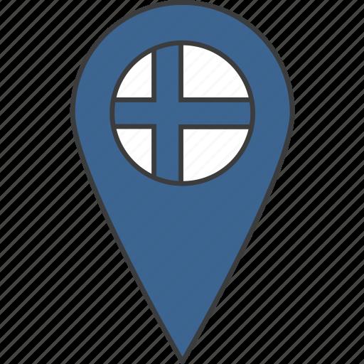 country, european, finland, finnish, flag icon