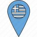 country, european, flag, greece, greek icon