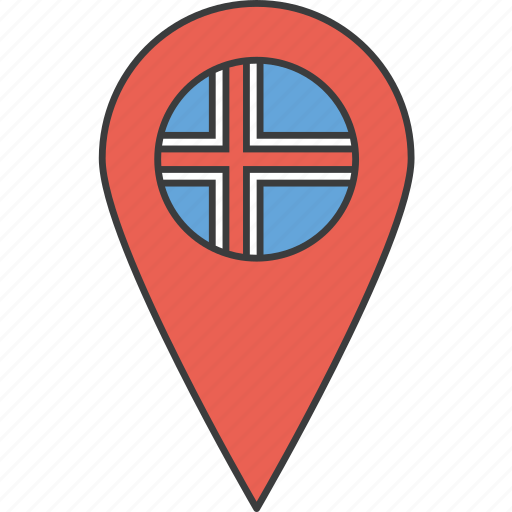 country, european, flag, iceland, icelandic icon