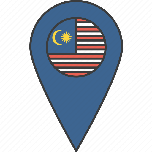 asian, country, flag, malay, malaysia, malaysian icon