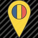 country, european, flag, romania, romanian