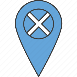 country, european, flag, scotland, scottish icon
