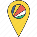 african, country, flag, seychelles