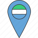 african, country, flag, leone, sierra icon
