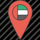 arab, asian, country, emirates, flag, uae, united