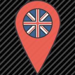 britain, country, european, flag, kingdom, united icon