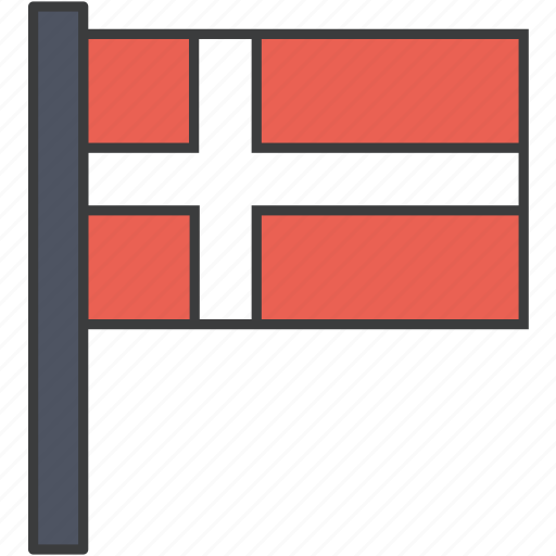 country, danish, denmark, european, flag, national icon