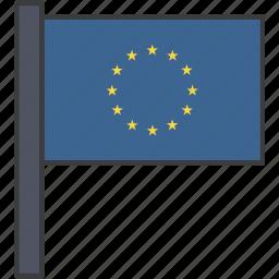 country, europe, european, flag, union icon