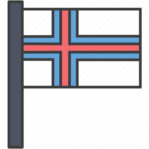 country, european, faroe, flag, island, national icon