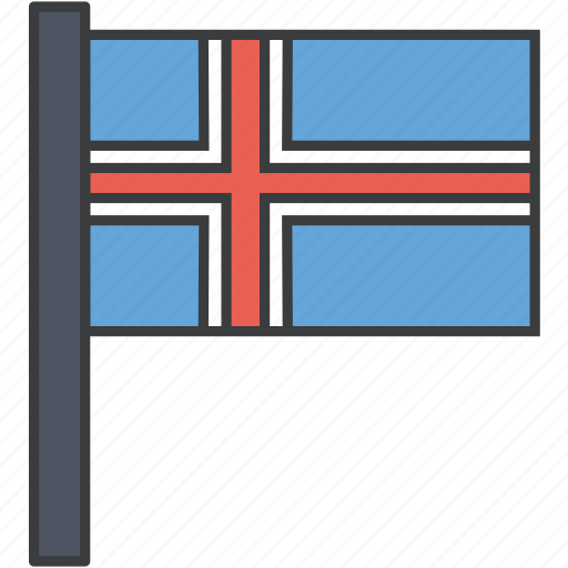 country, european, flag, iceland, icelandic, national icon