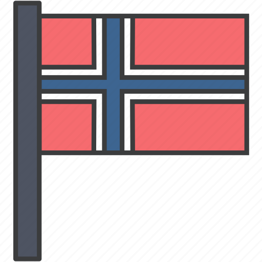 country, european, flag, national, norwageian, norway icon
