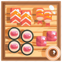 eat, food, japan, sushi icon