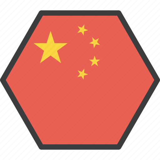 asian, china, chinese, country, flag icon