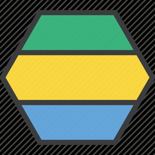 african, country, flag, gabon, gabonese icon