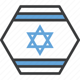 asian, country, flag, israel icon