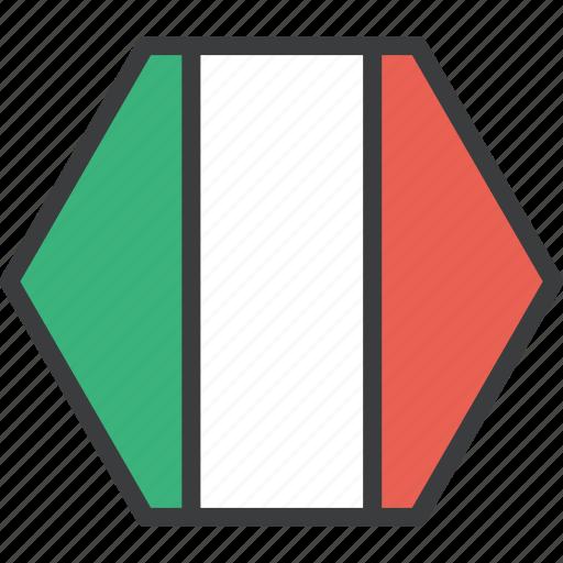country, european, flag, italian, italy icon