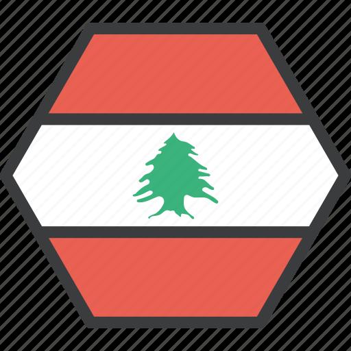 asian, country, flag, lebanese, lebanon icon