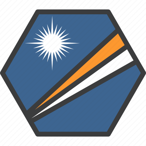 country, flag, islands, marshall icon