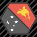 country, flag, guinea, new, papua