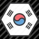 asian, country, flag, korea, korean, south