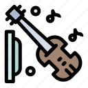 equipment, guitar, music, violin icon