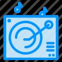 audio, gramophone, music icon