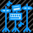 drum, equipment, music icon